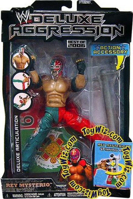 WWE Wrestling Deluxe Aggression Best of 2006 Rey Mysterio Action Figure