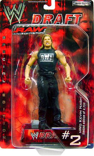 WWE Wrestling Raw Draft NWO Kevin Nash Action Figure #2