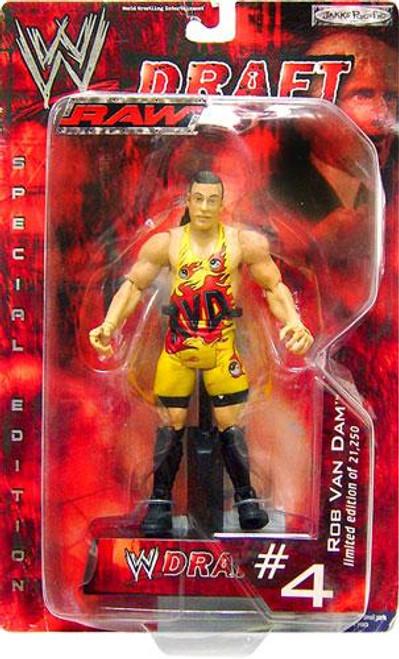 WWE Wrestling Raw Draft Rob Van Dam Action Figure #4