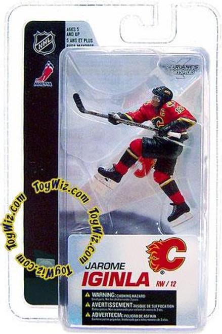 McFarlane Toys NHL Calgary Flames Sports Picks 3 Inch Mini Series 4 Jarome Iginla Mini Figure