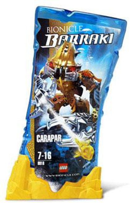 LEGO Bionicle Barraki Carapar Set #8918