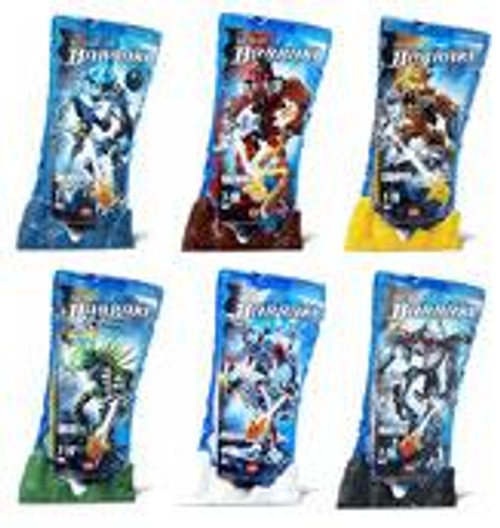 LEGO Bionicle Barraki Set of 6 Figures #8916-8921