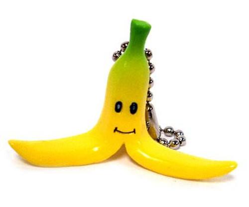 Super Mario Mario Kart DS Banana Micro Keychain
