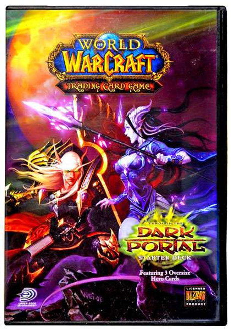 World of Warcraft Trading Card Game Dark Portal Starter Deck [Random Class]