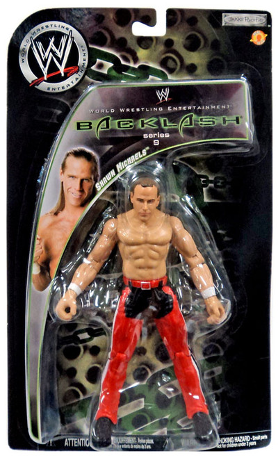 WWE Wrestling Backlash Series 9 Shawn Michaels Action Figure