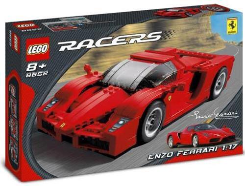 LEGO Racers Enzo Ferrari 1:17 Set #8652