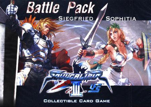Universal Fighting System Soul Calibur III Siegfried Vs. Sophitia Battle Pack