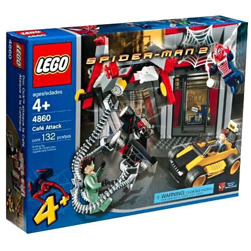 LEGO Spider-Man 2 Cafe Attack Set #4860