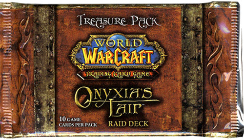 World of Warcraft Trading Card Game Onyxia's Lair Treasure Pack