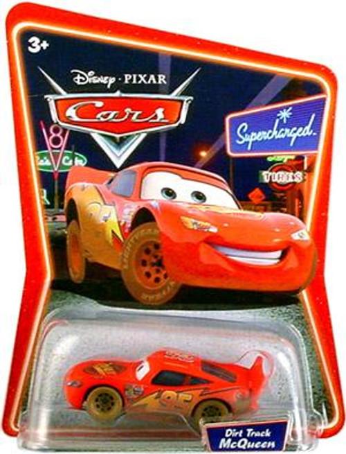 Disney Cars Supercharged Dirt Track Lightning McQueen Diecast Car
