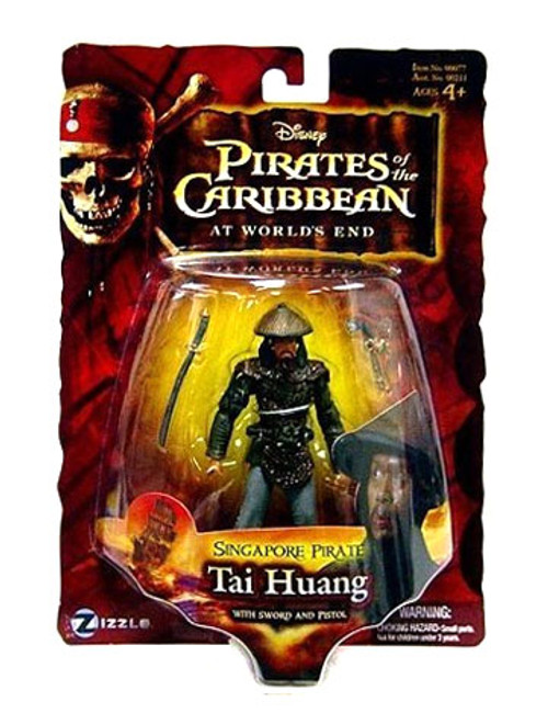 Pirates of the Caribbean At World's End Series 3 Tai Huang Action Figure [Singapore Pirate]