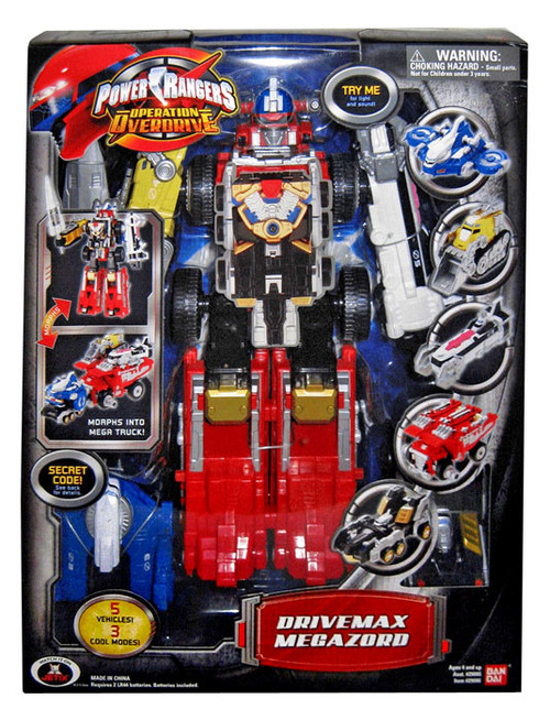 Power Rangers Operation Overdrive Drivemax Megazord Action Figure