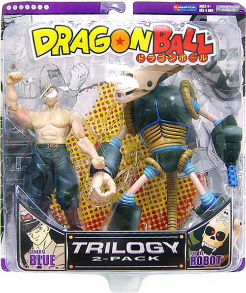 Dragon Ball General Blue & Pirate Robot Action Figure 2-Pack