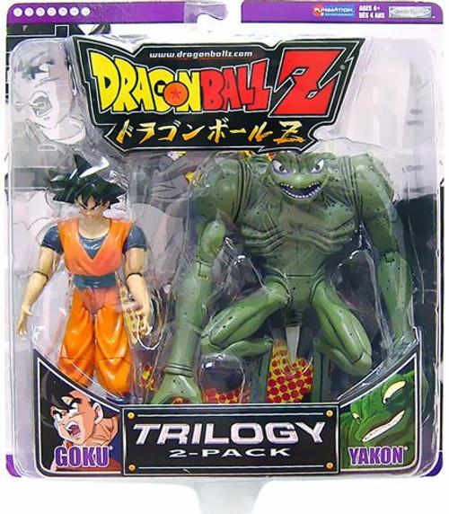 Dragon Ball Z Trilogy Goku & Yakon Action Figure 2-Pack