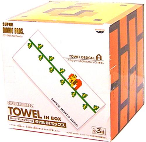 Super Mario Climbing Mario 15 30-Inch Towel