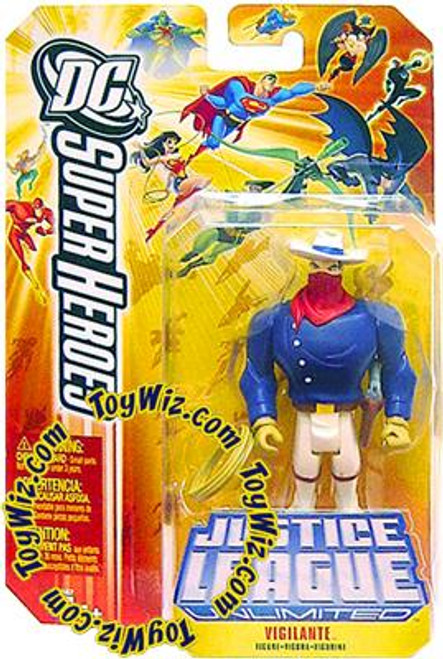 DC Justice League Unlimited Super Heroes Vigilante Action Figure