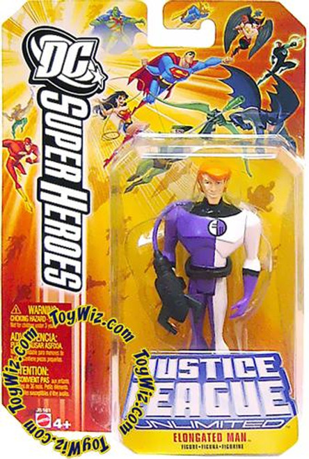 DC Justice League Unlimited Super Heroes Elongated Man Action Figure [Yellow Card]