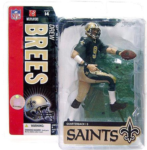 McFarlane Toys NFL New Orleans Saints Sports Picks Series 14 Drew Brees Action Figure