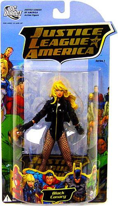 DC Justice League of America Series 1 Black Canary Action Figure