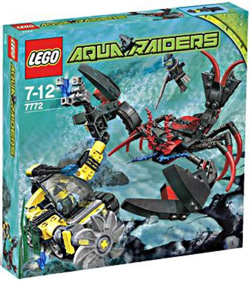 LEGO Aqua Raiders Lobster Strike Set #7772
