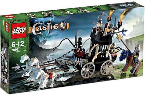 LEGO Castle Skeleton Prison Carriage Set #7092