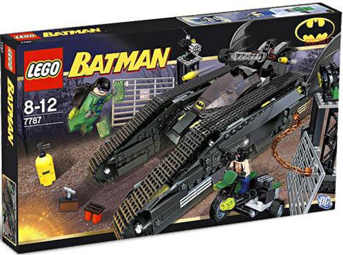 LEGO Batman The Bat Tank: Riddler & Bane's Hideout Set #7787