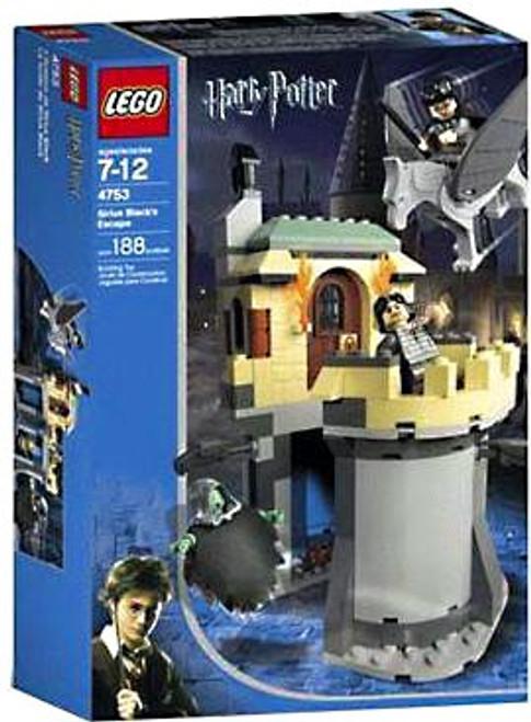 LEGO Harry Potter Series 1 Prisoner of Azkaban Sirius Black's Escape Set #4753
