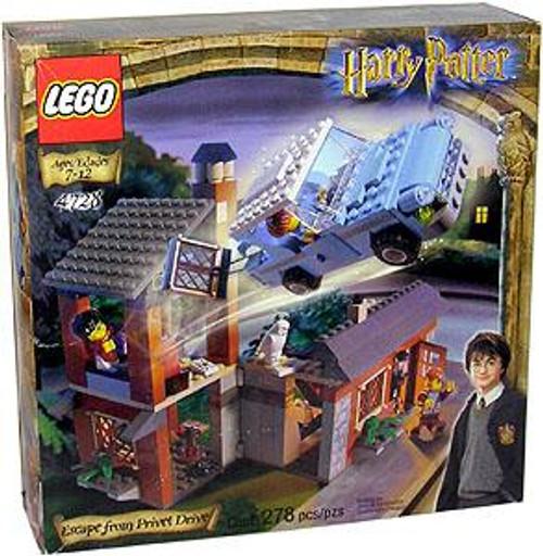 LEGO Harry Potter Series 1 Sorcerer's Stone Escape From Privet Drive Set #4728