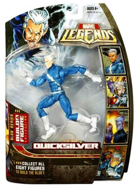 Marvel Legends Series 17 Blob Quicksilver Action Figure [Blue]