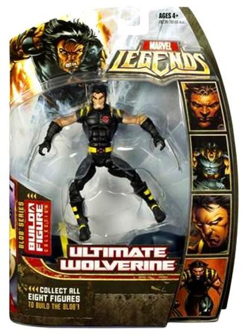 Marvel Legends Series 17 Blob Ultimate Wolverine Action Figure
