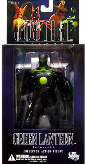 DC Alex Ross Justice League Series 6 Armored Green Lantern Action Figure