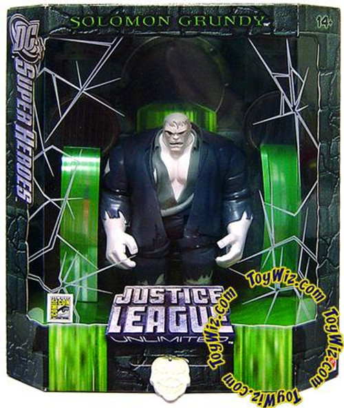 DC Justice League Unlimited Super Heroes Solomon Grundy Exclusive Action Figure