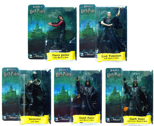 NECA Harry Potter The Goblet of Fire Set of 5 Action Figures