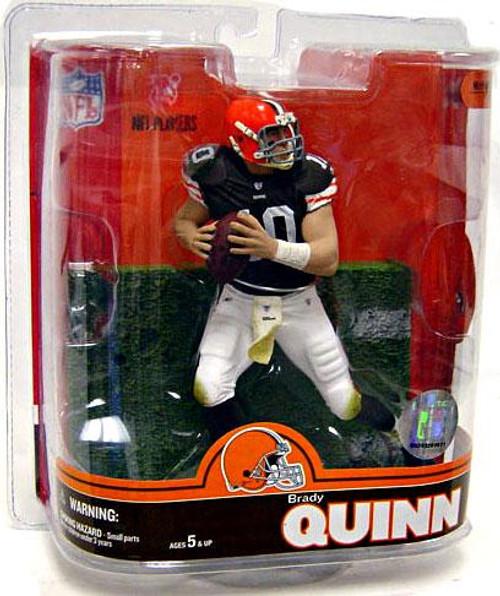 McFarlane Toys NFL Cleveland Browns Sports Picks Series 16 Brady Quinn Action Figure
