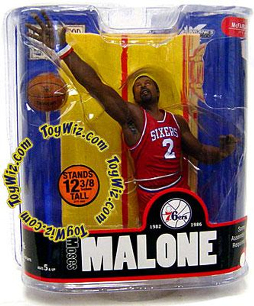 McFarlane Toys NBA Philadelphia 76ers Sports Picks Legends Series 3 Moses Malone Action Figure [Red Jersey]