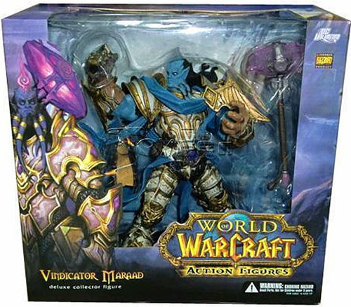 World of Warcraft Series 2 Vindicator Maraad Action Figure [Draenei Paladin]