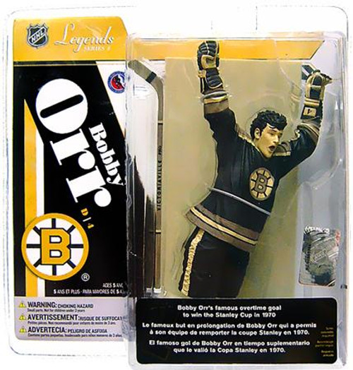 McFarlane Toys NHL Boston Bruins Sports Picks Legends Series 4 Bobby Orr Action Figure [Sepia Color Variant]