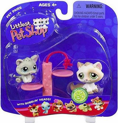 Littlest Pet Shop Pet Pairs Kitty Figure 2-Pack