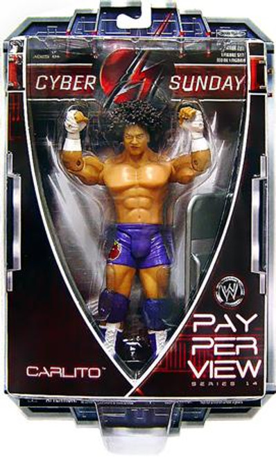 WWE Wrestling Pay Per View Series 14 Cyber Sunday Carlito Action Figure