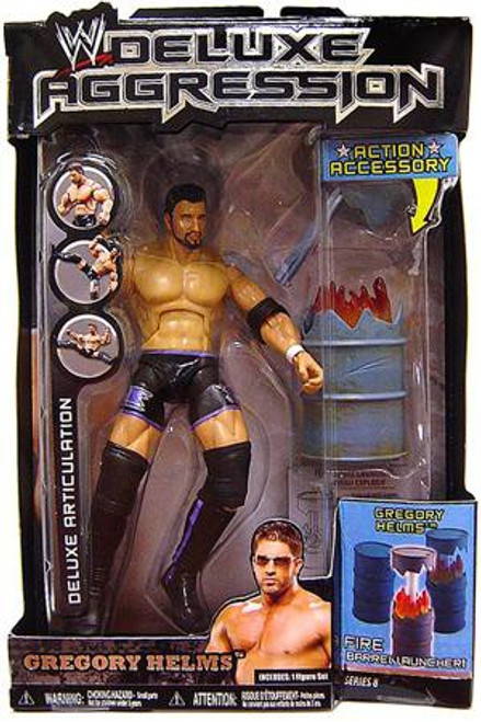WWE Wrestling Deluxe Aggression Series 8 Gregory Helms Action Figure