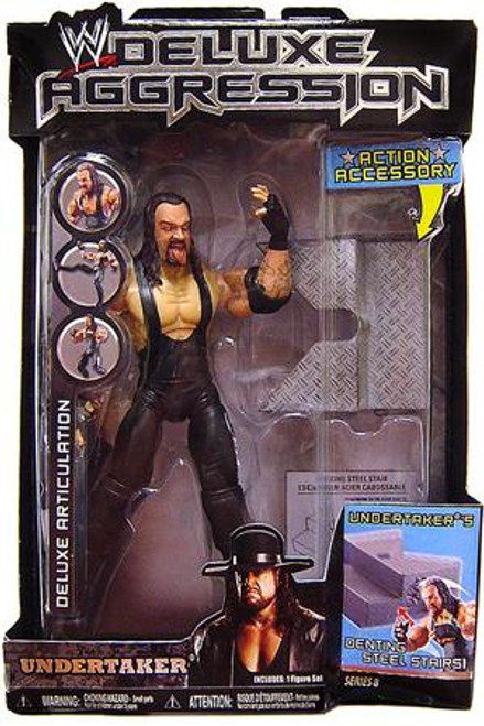 WWE Wrestling Deluxe Aggression Series 8 Undertaker Action Figure
