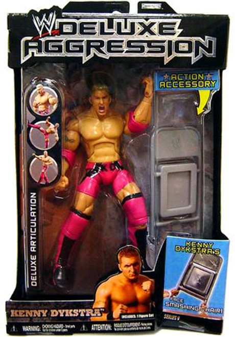WWE Wrestling Deluxe Aggression Series 9 Kenny Dykstra Action Figure