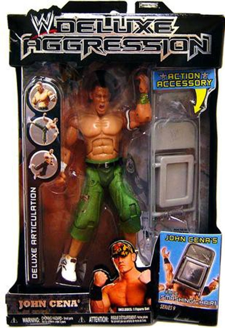 WWE Wrestling Deluxe Aggression Series 9 John Cena Action Figure