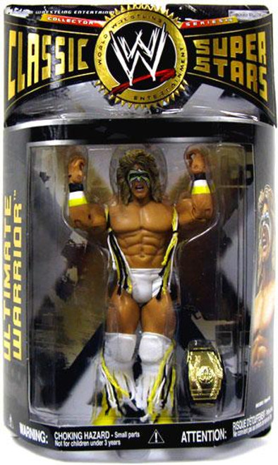 WWE Wrestling Classic Superstars Series 16 Ultimate Warrior Action Figure