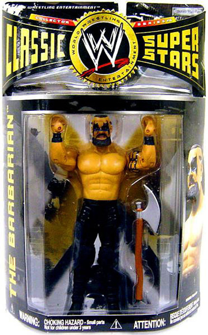 WWE Wrestling Classic Superstars Series 16 The Barbarian Action Figure