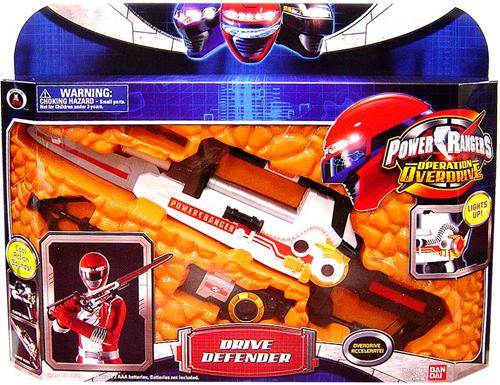 Power Rangers Operation Overdrive Drive Defender Roleplay Toy
