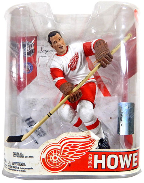 McFarlane Toys NHL Detroit Red Wings Sports Picks Legends Series 6 Gordie Howe Action Figure [White Jersey]