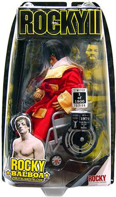Rocky II Rocky Balboa Exclusive Action Figure [Post Fight Wheelchair]