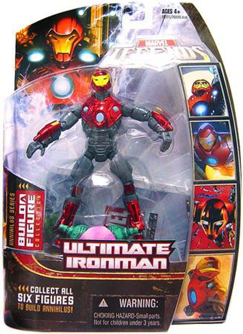 Marvel Legends Series 16 Annihilus Ultimate Iron Man Action Figure [Helmet On]