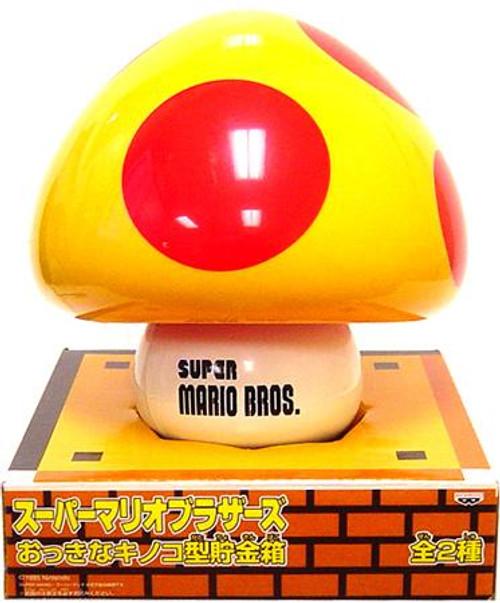 Super Mario Bros Super Mushroom Coin Bank